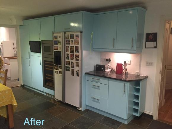 After spray painting with our Painters and Decorators in Surrey